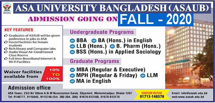ASA University Bangladesh
